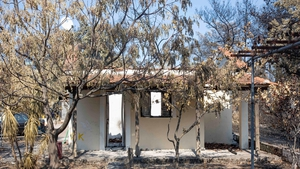 Wildfires in the northern part of the Greek island of Evia burned for almost for ten days