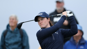 Leona Maguire was part of the major field at the AIG Women's Open