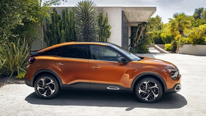 Citroen has opted for a more SUV profile for the revised C4.
