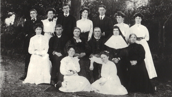 Some of the Ryan family of Tomcoole, Co Wexford. Photo: Ryan family
