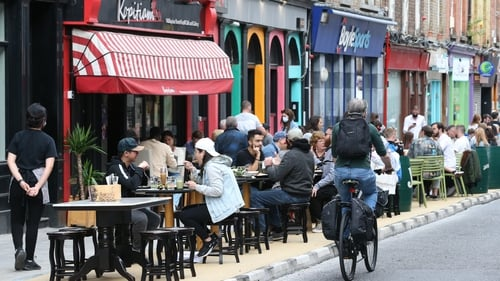 Capel Street and Parliament Street have been closed to traffic on weekend evenings for most of the summer (Pic - RollingNews.ie)