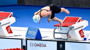 Nicole Turner set a new PB in the 50m final