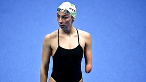 Ellen Keane is in the pool