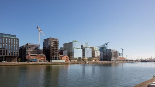 The development involves 66,718 square metres of office space in four blocks