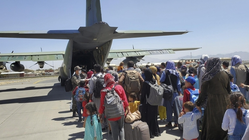 Thousands of people fled Afghanistan after the Taliban took control (File image)
