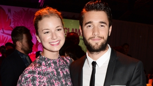 Emily VanCamp and Josh Bowman (pictured in London in June 2014) - Met on the set of Revenge and married in 2018