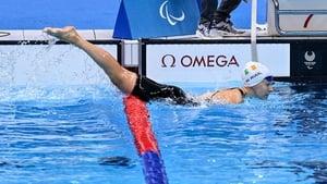 Róisín Ní Riain was fifth in the S13 400m freestyle final