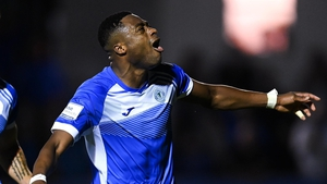 Owolabi has four goals in two games for Harps