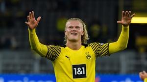 Haaland's goal sent Dortmund top in Germany