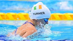 Nicole Turner finishes seventh in the 100m breaststroke (SB6) final