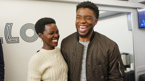Lupita Nyong'o paid tribute to her Black Panther co-star Chadwick Boseman on Instagram