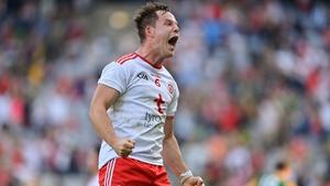 Kieran McGeary won the Man of the Match award