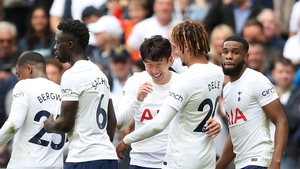 Son Heung-Min got the only goal in London
