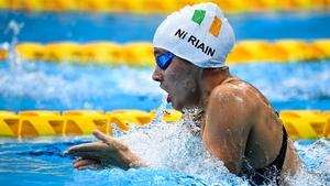 Róisín Ní Riain has made the SM13 200m IM final
