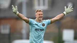 Bohemians goalkeeper James Talbot joins the Ireland squad