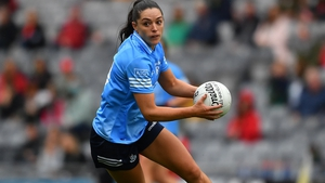 Sinéad Goldrick in action in the semi-final