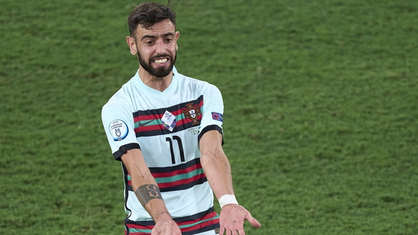 Bruno Fernandes is one of many attacking threats Ireland will have to deal with