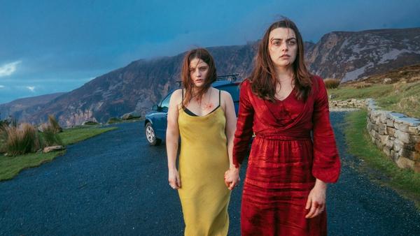 Nika McGuigan and Nora-Jane Noone in Wildfire