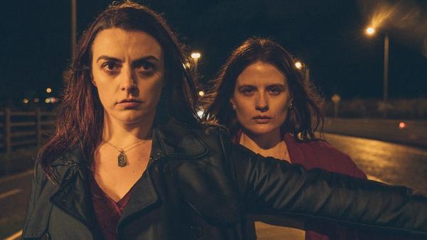 Nora-Jane Noone and Nika McGuigan in Wildfire
