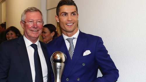 """Cristiano Ronaldo has previously described Alex Ferguson as his """"father in sport"""""""