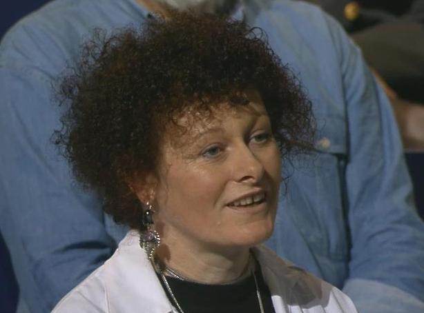 Paula Hayes on 'Davis' in 1996