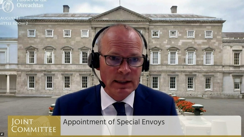 Mr Coveney was addressing the Oireachtas Joint Committee on Foreign Affairs and Defence today