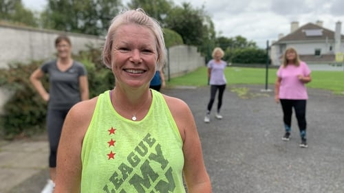 Zumba Instructor Lousie Heatherwick is delighted with the announcement