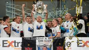 Dundalk beat Shamrock Rovers in the final last season
