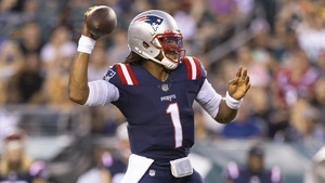 Newton joined the Patriots for last season after Tom Brady's departure