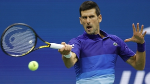 Novak Djokovic played his first match since missing out on a bronze medal at the Olympics