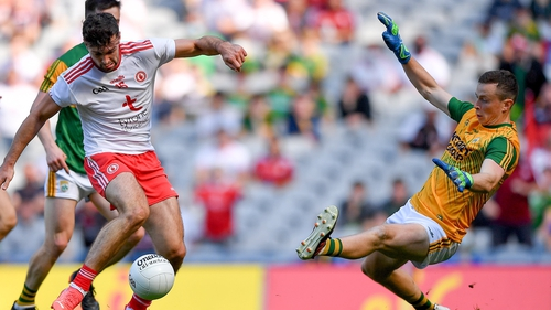 Conor McKenna scored two of Tyrone's three goals against Kerry