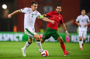 Seamus Coleman played against Portugal and Azerbaijan but will miss the final game of the triple-header