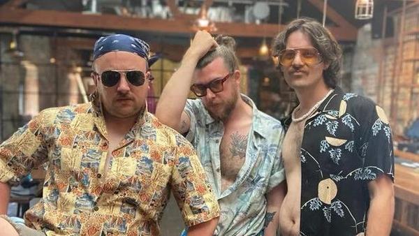 Shane Daniel Byrne, Tony Cantwell, and Killian Sundermann are three incredibly thirsty Irish comedians.