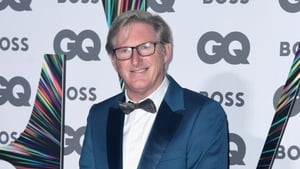 Adrian Dunbar at the GQ Men of the Year Awards - Named Television Actor of the Year