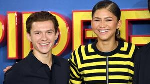 Spider-Man stars Tom Holland and Zendaya