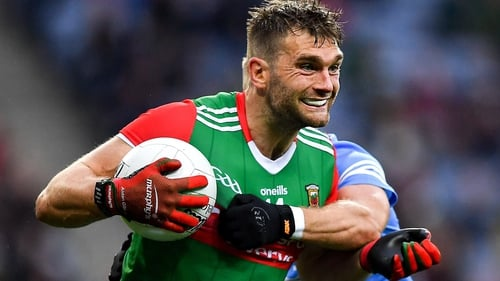 Aidan O'Shea was replaced during the second half of Mayo's semi-final win over Dublin