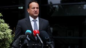 Leo Varadkar was speaking after two days of meetings in Northern Ireland