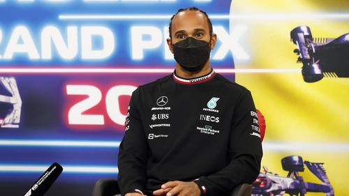 Lewis Hamilton was speaking ahead of the Dutch Grand Prix