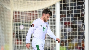 Aaron Connolly had a couple of good chances to score against Portugal
