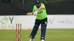Paul Stirling during match four