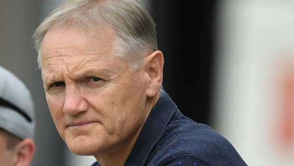 Joe Schmidt pictured at a Mitre 10 match last year