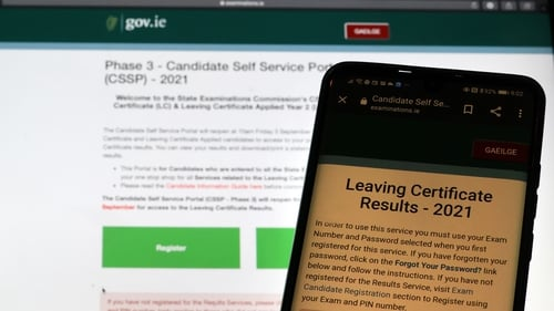 Students can access their results through the Candidate Self Service Portal (Pic: RollingNews.ie)