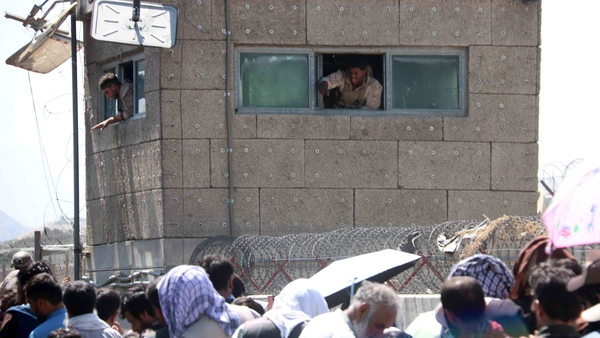 Afghans struggled to reach foreign forces at Kabul airport last month to show their credentials to flee the country