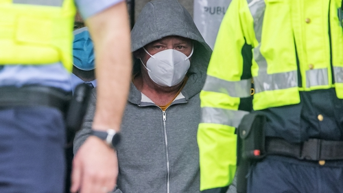 Earl McKevitt appeared before Carlow District Court this afternoon (Pic: Collins photo agency)