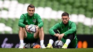 The marauding wing-backs, Seamus Coleman and Matt Doherty