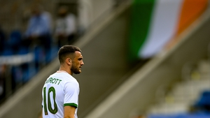 Troy Parrott starts for Ireland