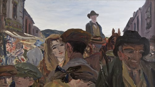 Yeats painted just over 1,200 oil paintings over the course of his life, with the majority painted in his last 15 years