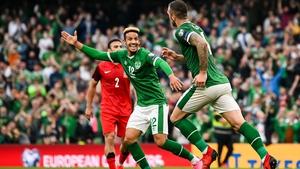 Ireland face Serbia
