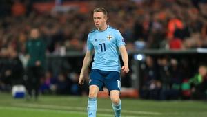 Shane Ferguson scored the only goal of the game
