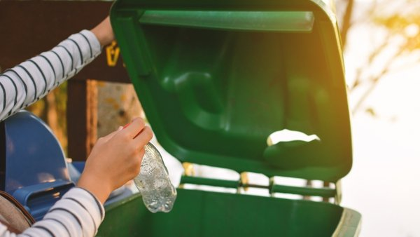 """Soft plastic can be placed in the household recycling bin along with """"rigid"""" plastic"""